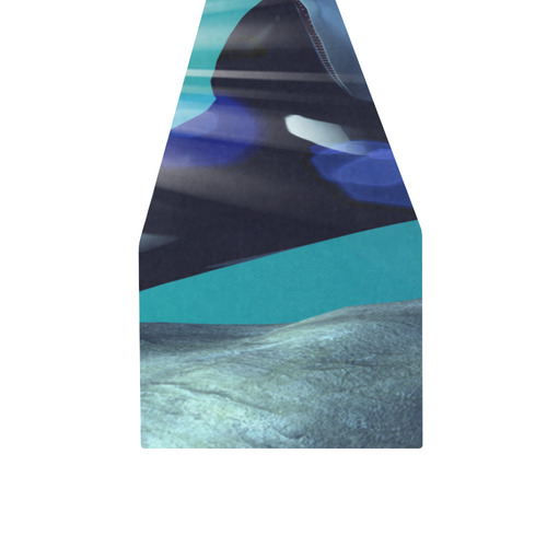 Awesome orca Table Runner 16x72 inch