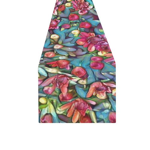 lovely floral 31A Table Runner 16x72 inch