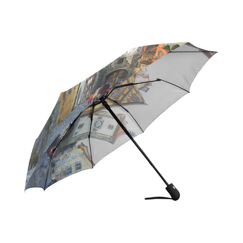 Rothenburg20150903_by_JAMColors Auto-Foldable Umbrella (Model U04)