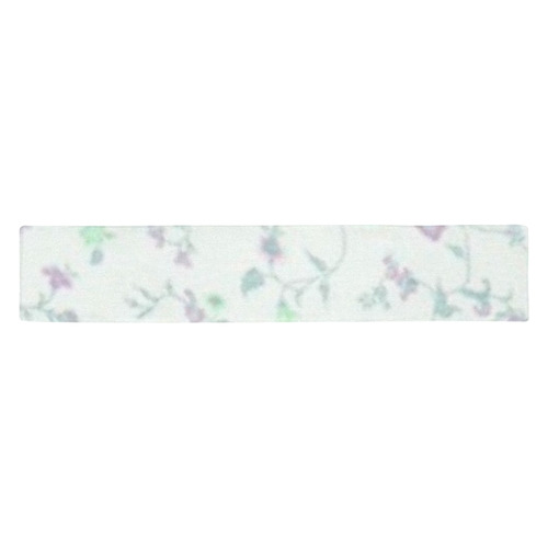 Blurred floral A, by JamColors Table Runner 14x72 inch
