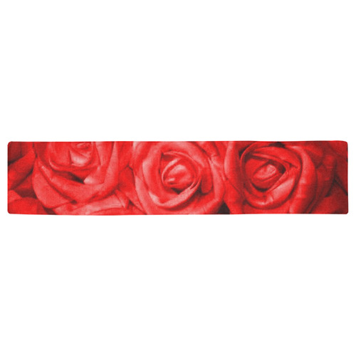 gorgeous roses L Table Runner 16x72 inch