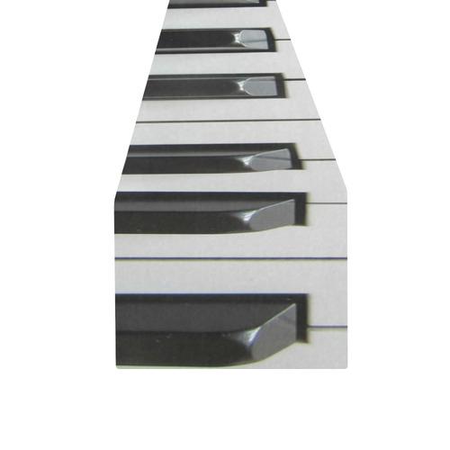 3D Piano Keys Table Runner 16x72 inch