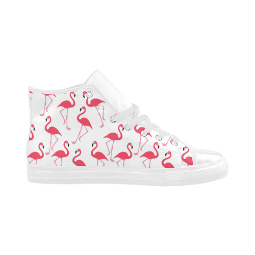 flamingos Aquila High Top Microfiber Leather Women's Shoes (Model 032)
