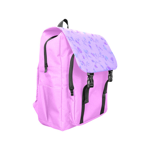 Blurred floral C  by JamColors Casual Shoulders Backpack (Model 1623)
