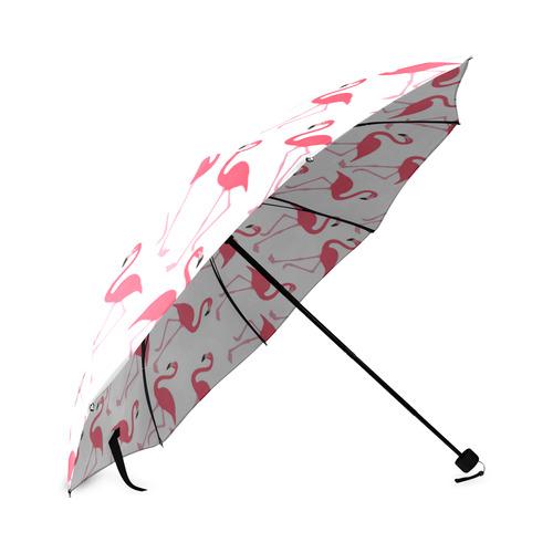 flamingos Foldable Umbrella