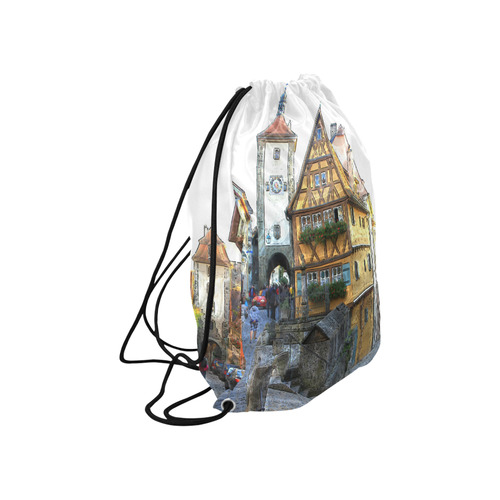 "Rothenburg20150903_by_JAMColors Large Drawstring Bag Model 1604 (Twin Sides)  16.5""(W) * 19.3""(H)"