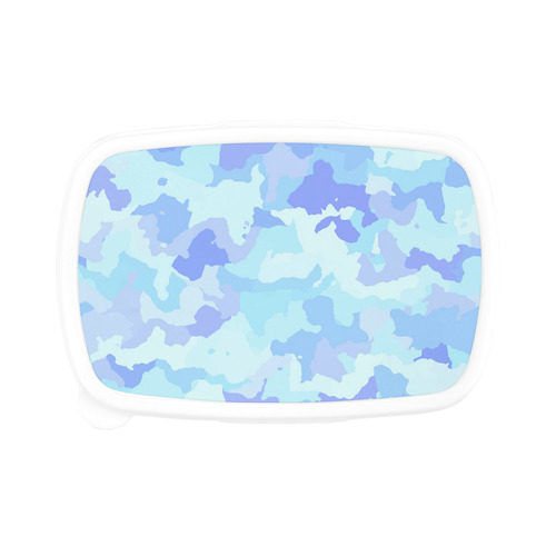 camouflage , aqua Children's Lunch Box