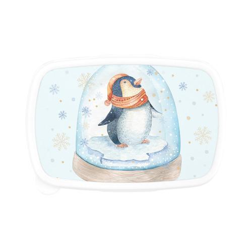 cute penguin, christmas Children's Lunch Box