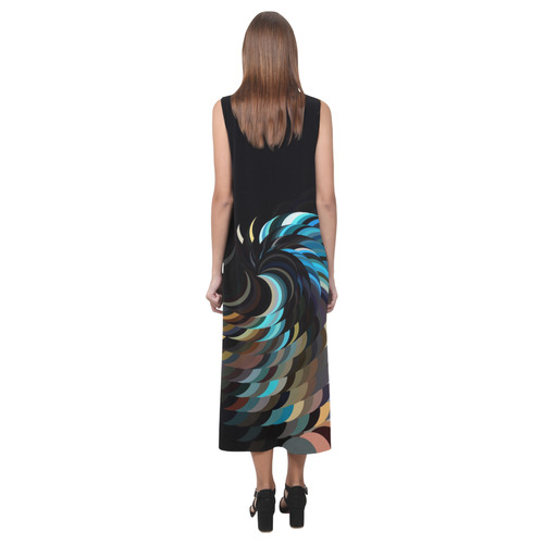 Spiralize by Artdream Phaedra Sleeveless Open Fork Long Dress (Model D08)