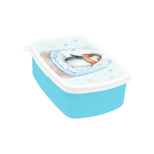 cute penguin, christmas Children's Lunch Box