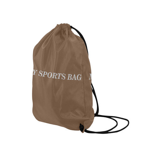 "SPORTS BAG Medium Drawstring Bag Model 1604 (Twin Sides) 13.8""(W) * 18.1""(H)"
