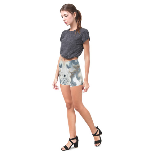 Blue Waves Briseis Skinny Shorts (Model L04)