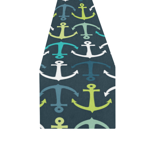 anchor Table Runner 14x72 inch