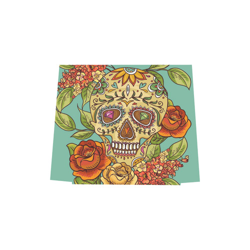 sugar skull Euramerican Tote Bag/Small (Model 1655)