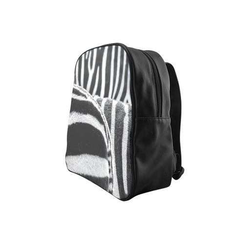several zebras by JamColors School Backpack (Model 1601)(Small)