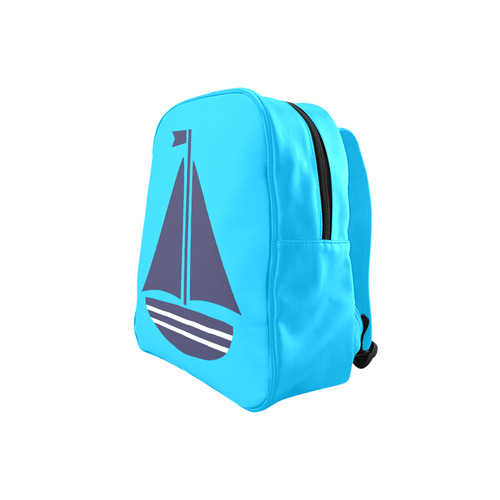 Sailboat School Backpack (Model 1601)(Small)
