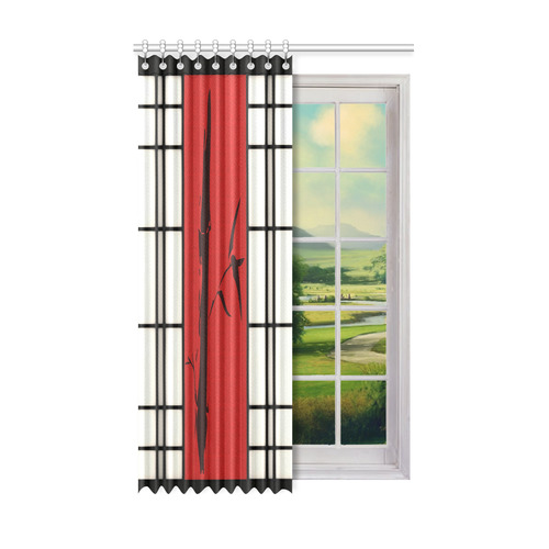 "Shoji - Bamboo Window Curtain 52"" x 84""(One Piece)"