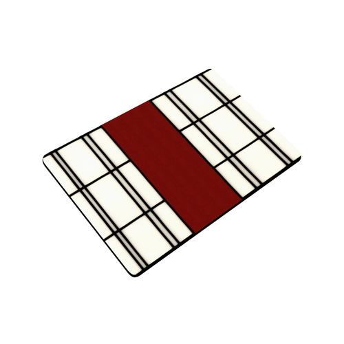 """Shoji - red Doormat 23.6"""" x 15.7"""""""