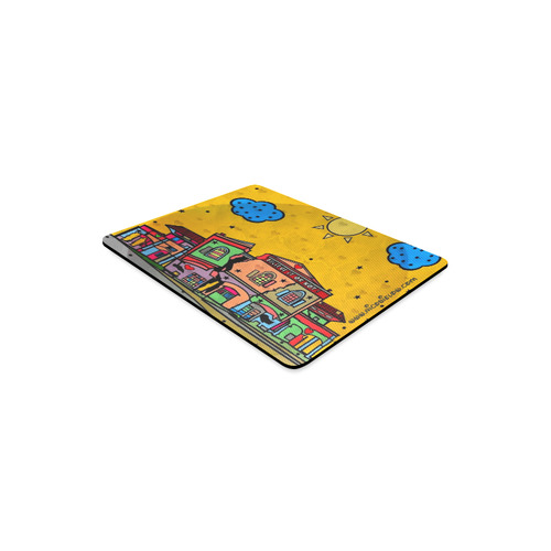 Believe or it not building branson by Nico Bielow Rectangle Mousepad