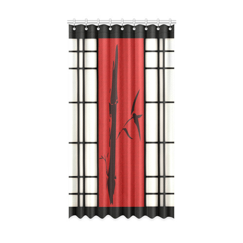 "Shoji - bamboo Window Curtain 52"" x96""(One Piece)"
