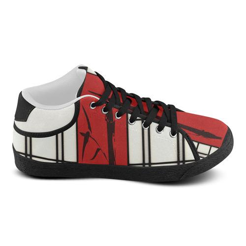 Shoji - Bamboo Women's Chukka Canvas Shoes (Model 003)