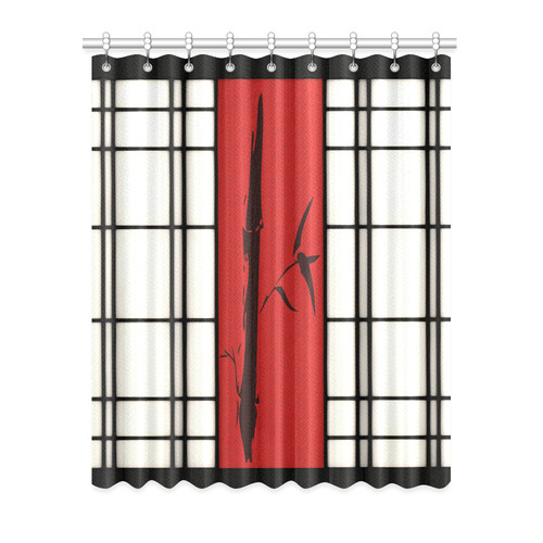 "Shoji - Bamboo Window Curtain 52"" x 63""(One Piece)"