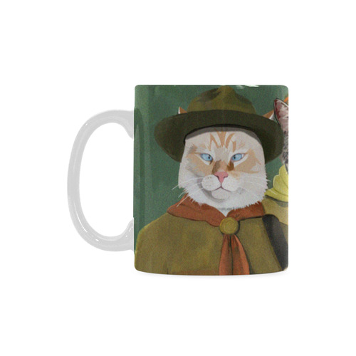 Scouts Mau, Gracie, Banzai and Reno Cocoa Coffee Cup White Mug(11OZ)