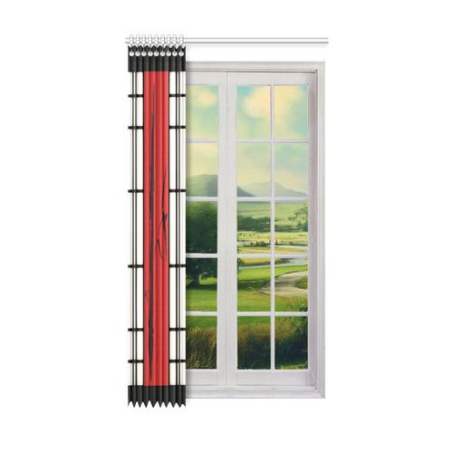 """Shoji - bamboo Window Curtain 52"""" x96""""(One Piece)"""