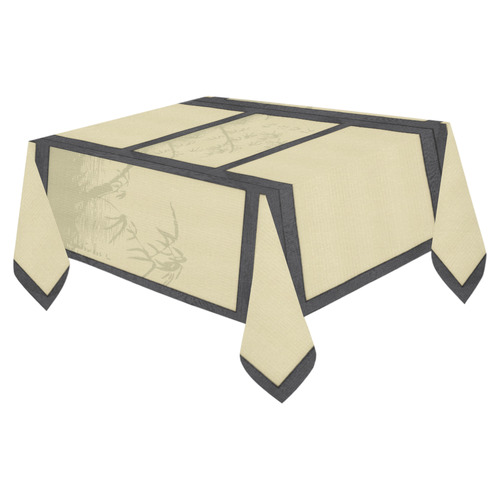 "Tatami - Bamboo Cotton Linen Tablecloth 52""x 70"""
