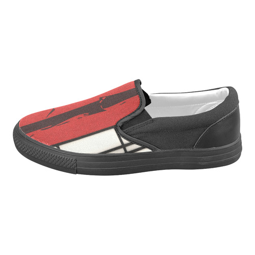 Shoji - Bamboo Slip-on Canvas Shoes for Men/Large Size (Model 019)