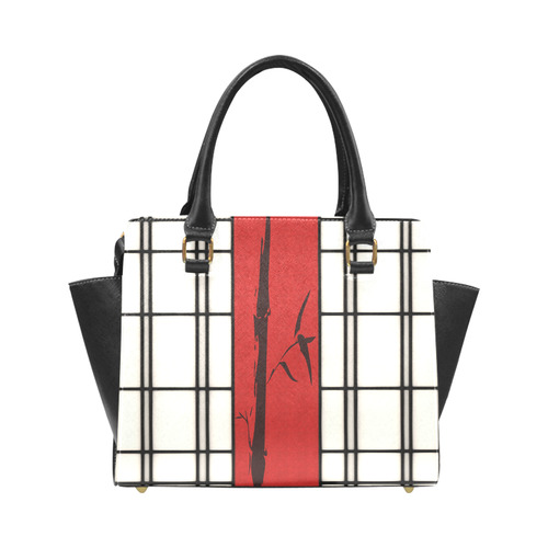 Shoji - Bamboo Rivet Shoulder Handbag (Model 1645)