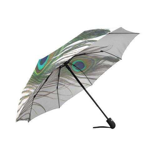 peacock-feathers Auto-Foldable Umbrella