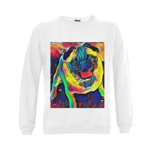 Happy Sid Gildan Crewneck Sweatshirt(NEW) (Model H01)