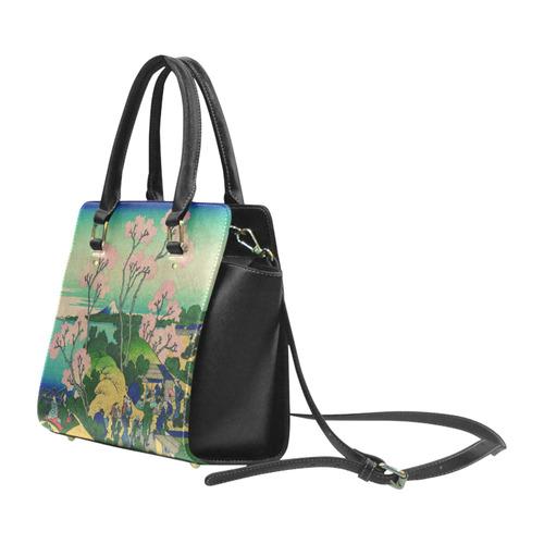 Hokusai Goten-Yama Hill Shinagawa Classic Shoulder Handbag (Model 1653)