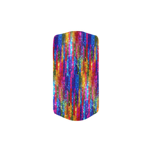 Rainbow Glitter Sequins Women's Clutch Purse (Model 1637)