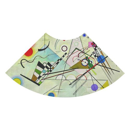 Kandinsky Composition 8 Abstract Painting 3/4 Sleeve Sundress (D23)