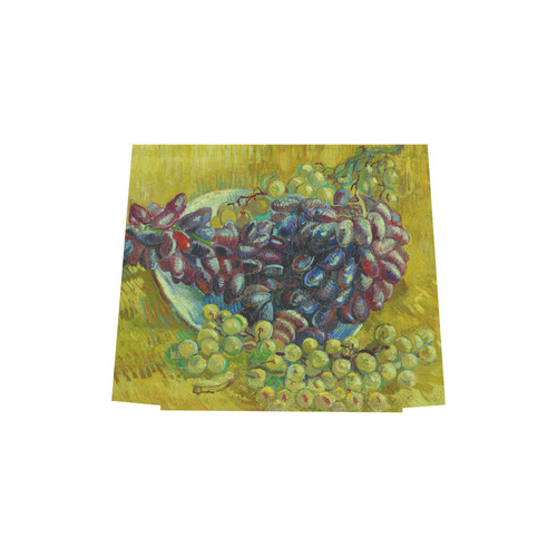 Vincent van Gogh Grapes Fine Art Painting Euramerican Tote Bag/Small (Model 1655)