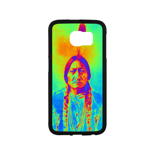 Sitting Bull Rubber Case for Samsung Galaxy S6
