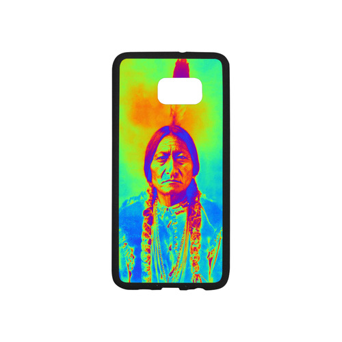 Sitting Bull Rubber Case for Samsung Galaxy S6 edge+