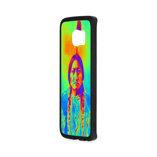 Sitting Bull Rubber Case for Samsung Galaxy S6 Edge