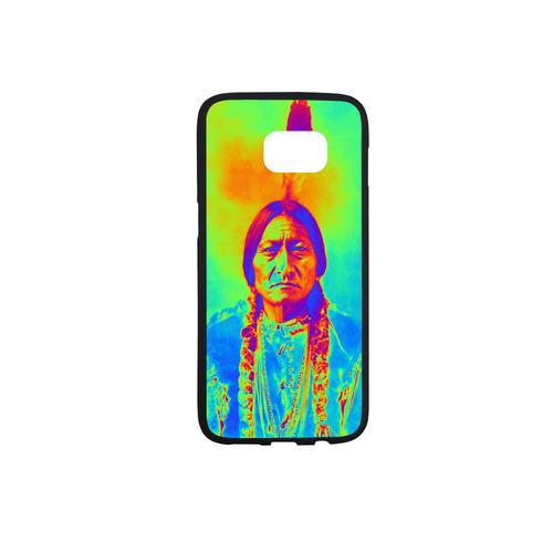Sitting Bull Rubber Case for Samsung Galaxy S7 edge