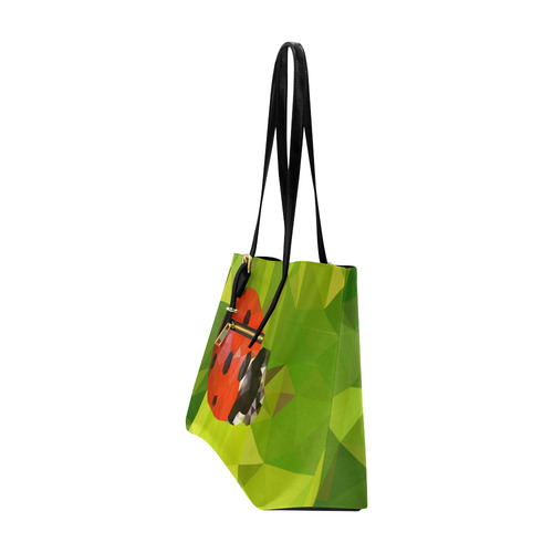 Lady Bug, low poly Euramerican Tote Bag/Large (Model 1656)