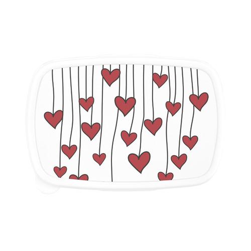 Waving Love Heart Garland Curtain Children's Lunch Box