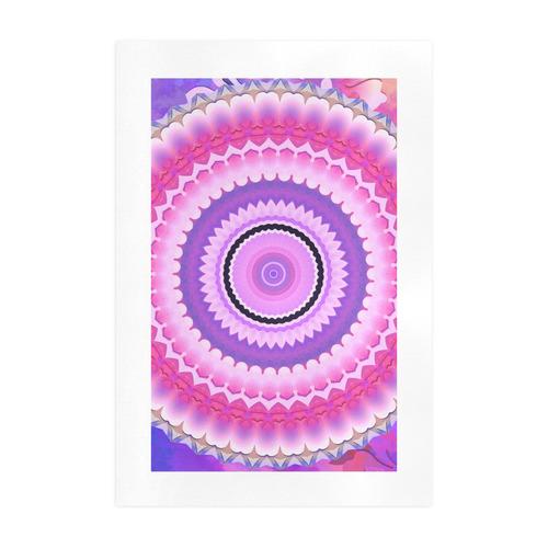 Freshness Energy Mandala Art Print 19''x28''