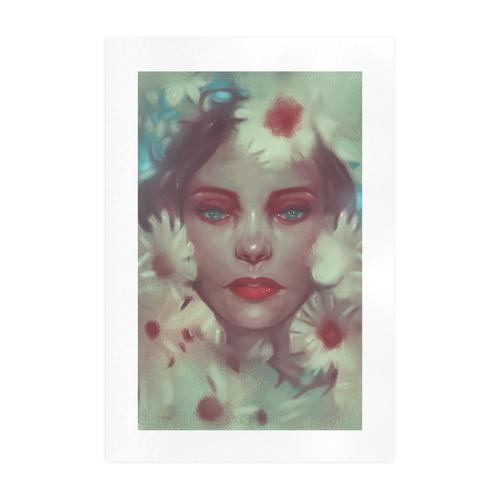 Flower nymph Art Print 19''x28''