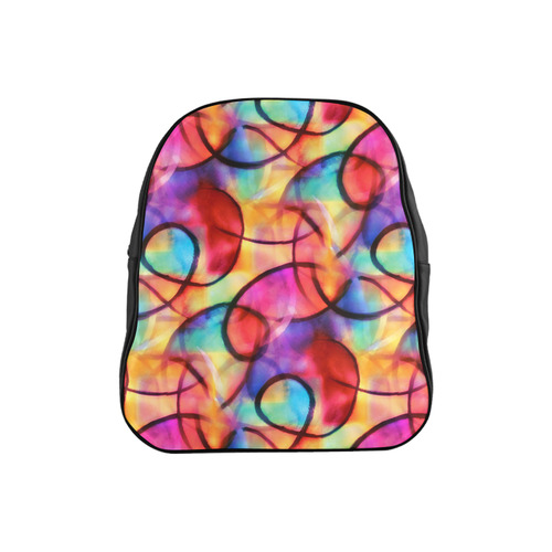 Color Ecstasy School Backpack (Model 1601)(Small)