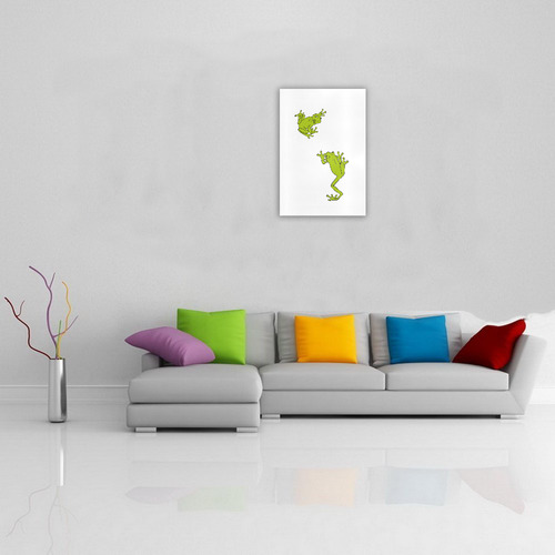Froggy Love Art Print 19''x28''