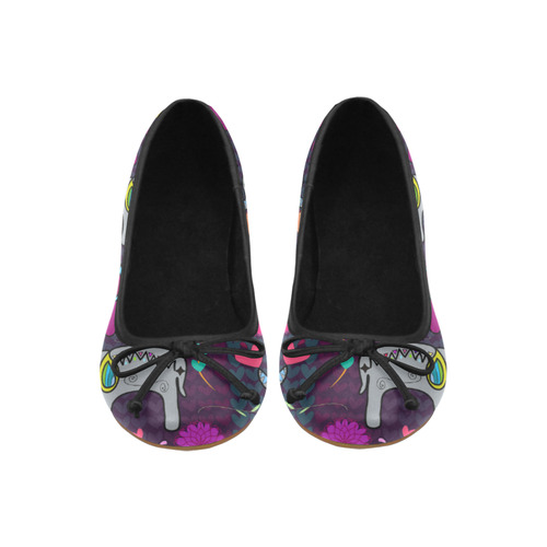 Namaste Elephants Juno Ballet Pumps (Model 312)
