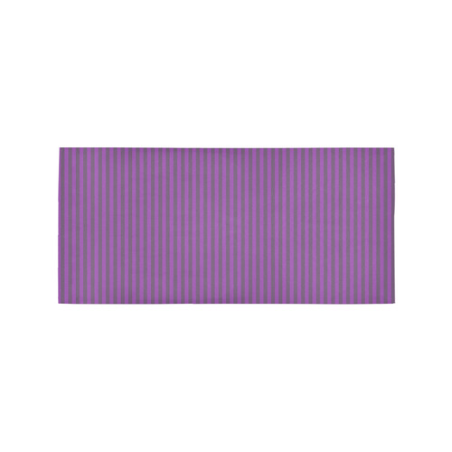Area Rug in Purple Stripes Area Rug 7'x3'3''