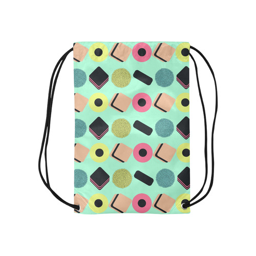"Liquorice Candy Mix Small Drawstring Bag Model 1604 (Twin Sides) 11""(W) * 17.7""(H)"